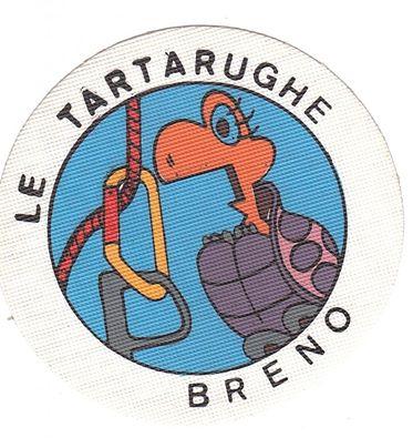 Simbolo del gruppo alpinistico le Tartarughe del Cai di Breno, Valle Camonica