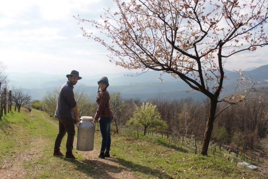 Marzia e Bruno, gestori di Zona Alpi