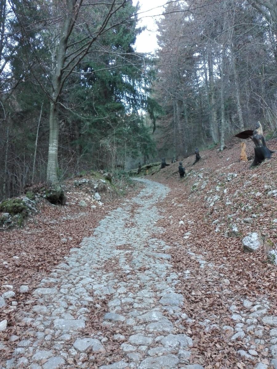 Panoramica sentiero